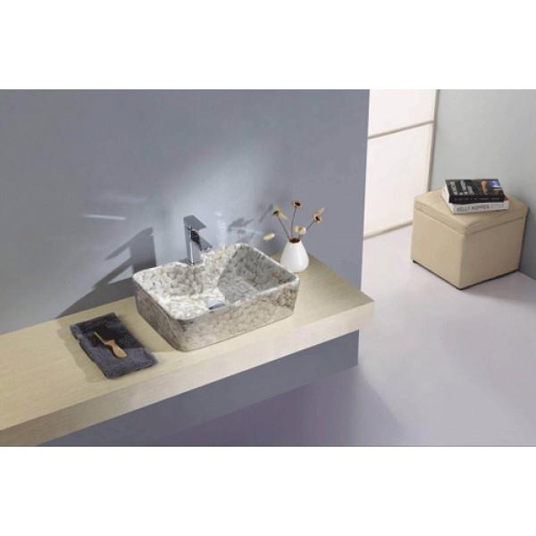 Chậu rửa đặt bàn Lavabo GAMA GMLB04A mới