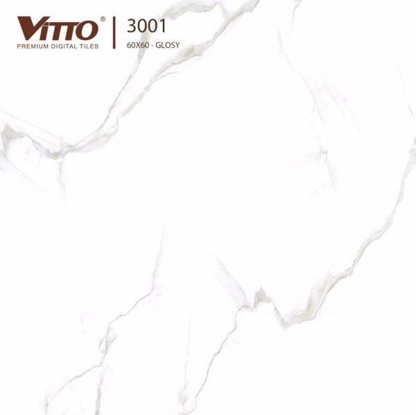 Gạch lát nền 60x60 đá bóng kiếng VITTO 3001