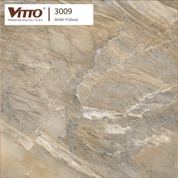 Gạch lát nền 60x60 đá bóng kiếng VITTO 3009