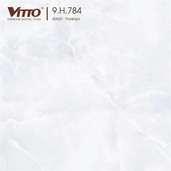 Gạch lát nền 60x60 đá bóng kiếng VITTO 9.H.784