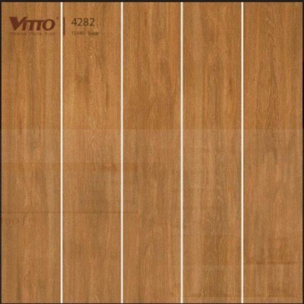 Gạch lát nền giả gỗ 15x80 VITTO 4282