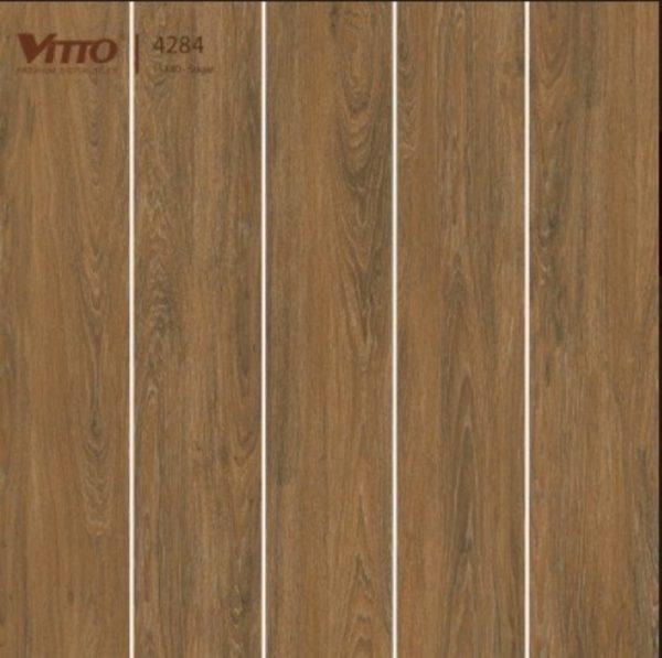 Gạch lát nền giả gỗ 15x80 VITTO 4284