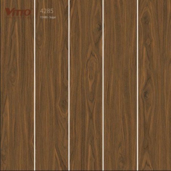 Gạch lát nền giả gỗ 15x80 VITTO 4285