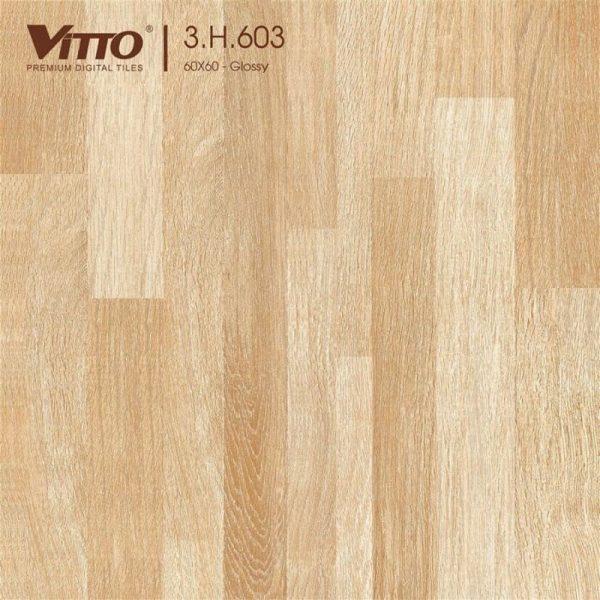 Gạch lát nền Vitto 60x60 mặt phẳng Sugar 3.H.603