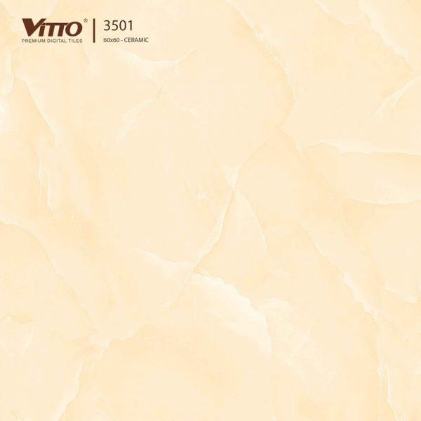 Gạch lát nền Vitto 60x60 mặt phẳng Sugar 3501