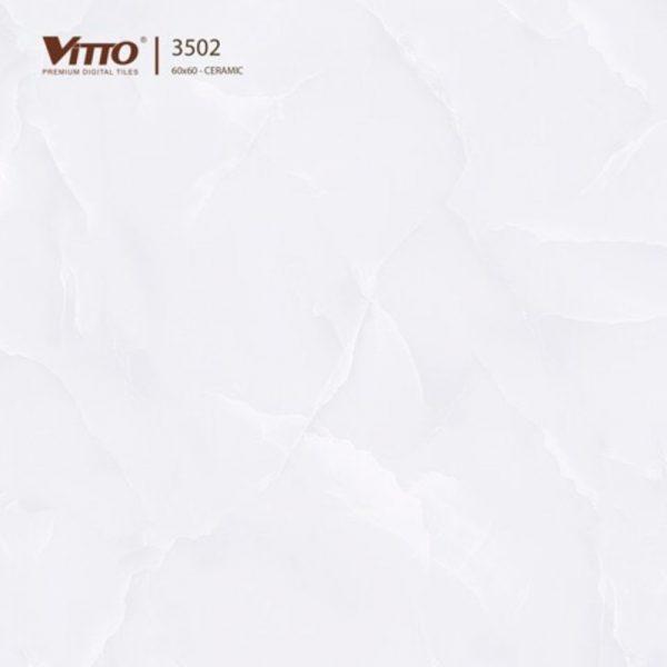 Gạch lát nền Vitto 60x60 mặt phẳng Sugar 3502