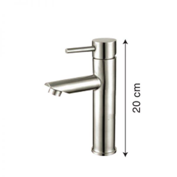 Vòi Lavabo inox 304 nóng lạnh GAMA GMI202