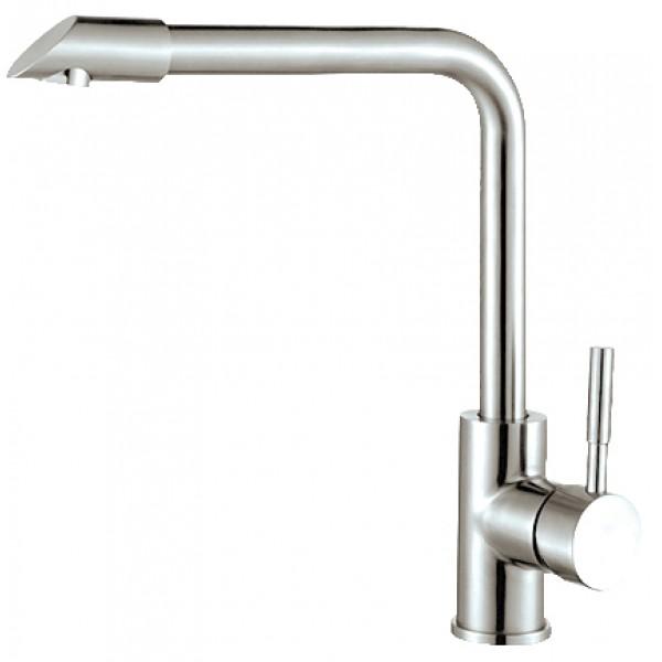 Vòi rửa chén inox 304 bóng nóng lạnh GAMA GMI305B