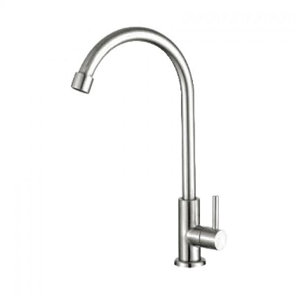 Vòi rửa chén inox 304 bóng nước lạnh GAMA GMI501B