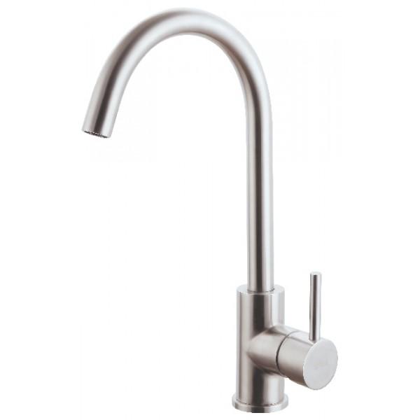 Vòi rửa chén inox 304 bóng nước lạnh GAMA GMI502B