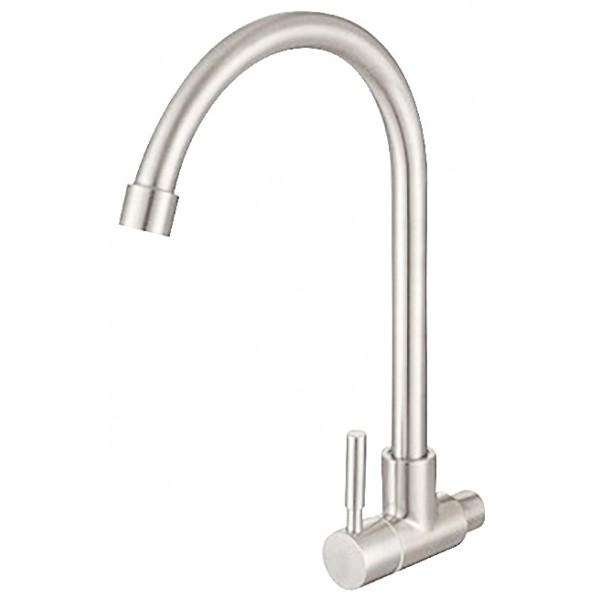 Vòi rửa chén inox 304 bóng nước lạnh GAMA GMI505B