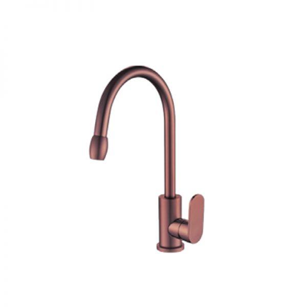 Vòi rửa chén nhôm tích hợp nóng lạnh GAMA GMA301N