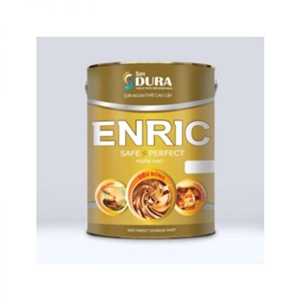 Sơn ngoại thất Dura Enric màu vàng hoàn hảo và bền màu