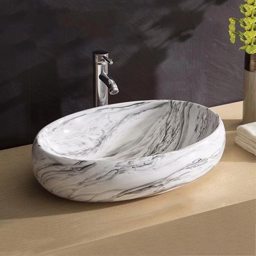 Chậu rửa Lavabo đặt bàn giả đá T.YES-RS1101-55