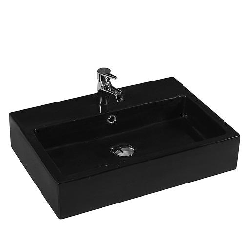 Chậu rửa Lavabo đặt bàn T.YES-RS1058MB màu đen
