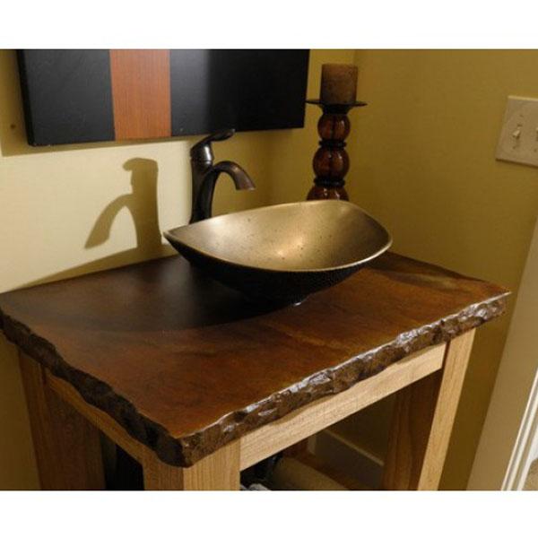 Chậu rửa Lavabo đặt bàn T.YES-RS1196BR nâu đồng