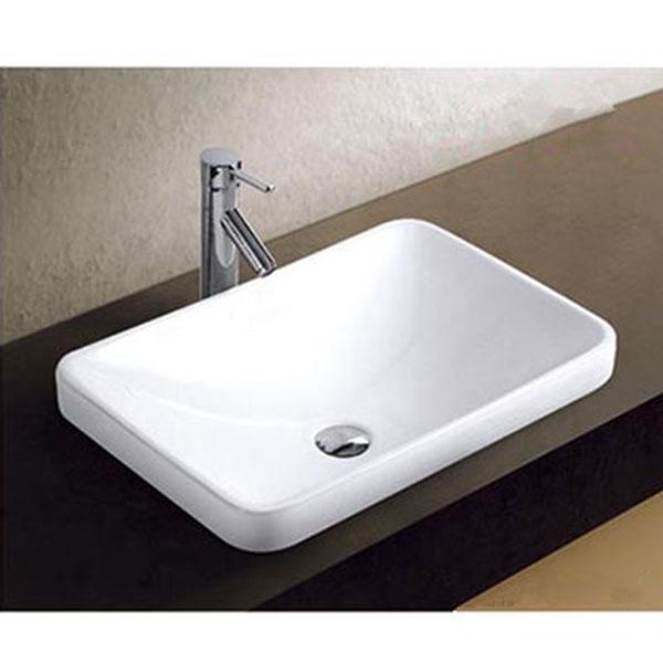 Chậu rửa Lavabo đặt bàn T.YES-RS1325 hình chữ nhật