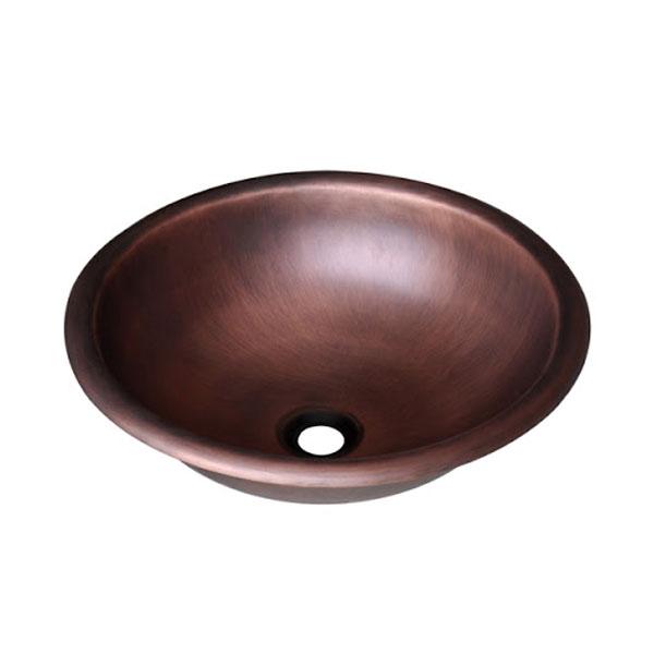 Chậu rửa Lavabo đặt bàn T.YES-RS221 nâu đồng