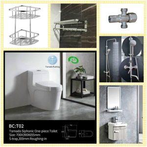 Combo thiết bị vệ sinh 7 khẳng định đẳng cấp