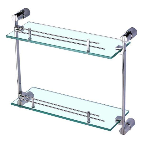 Kệ gương 2 tầng inox 304 T.IBA-50405