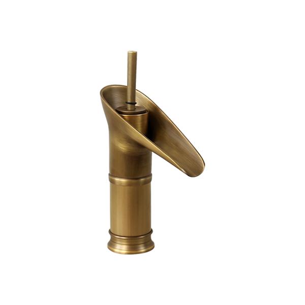 Vòi Lavabo màu đồng T.YES-FF.6401A
