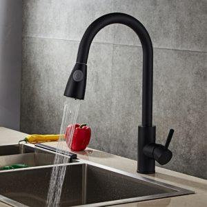 Vòi rửa chén inox 304 dây rút T.IBA-H3056B