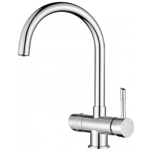 Vòi rửa chén inox 304 nóng lạnh T.IBA-H3124A