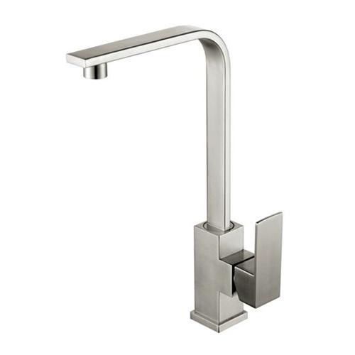 Vòi rửa chén inox 304 T.IBA-H3014 trắng bạc