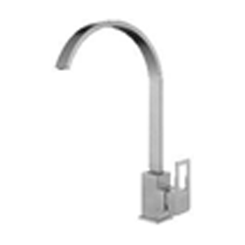 Vòi rửa chén inox 304 T.IBA-H3015 trắng bạc
