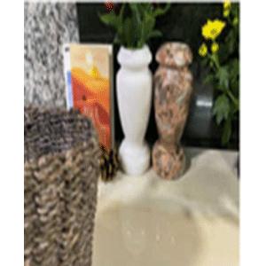 Bình cắm hoa bằng đá tự nhiên dáng cao
