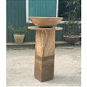 Chân trụ kê chậu rửa Lavabo bằng đá nguyên khối cao cấp