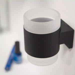 Kệ đựng 1 ly màu đen inox 304 T.YAG-B6558
