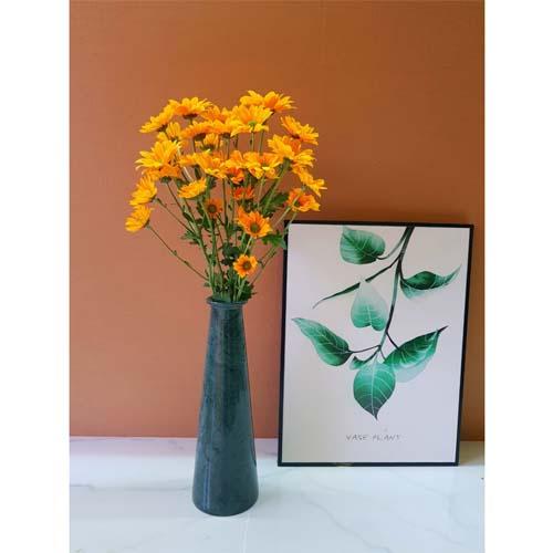 Bình cắm hoa bằng đá tự nhiên dáng suông