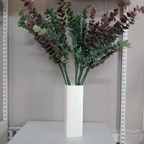 Bình cắm hoa bằng đá tự nhiên trụ vuông