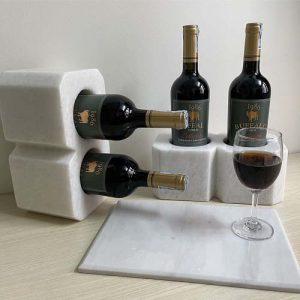 Khung đựng rượu vang bằng đá tự nhiên